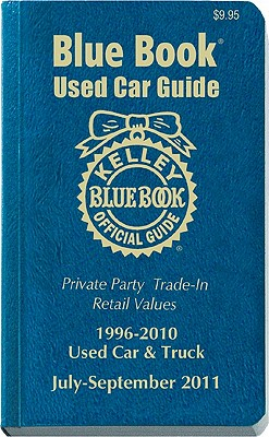 kelley blue book used car guide 1996 2010 used car truck book by kelley blue book creator. Black Bedroom Furniture Sets. Home Design Ideas