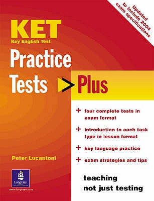 KET Practice Tests Plus Students' Book New Edition - Lucantoni, Peter