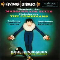 Khachaturian: Masquerade Suite; Kabalevsky: The Comedians - Oscar Shumsky (violin); RCA Victor Orchestra; Kirill Kondrashin (conductor)