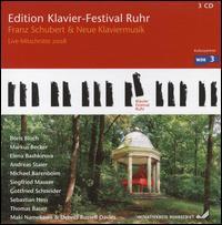 Klavier-Festival Ruhr: Franz Schubert & Neue Klaviermusik - Andreas Staier (piano); Boris Bloch (piano); Dennis Russell Davies (piano); Elena Bashkirova (piano);...