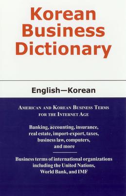 Korean Business Dictionary - Sofer, Morry