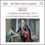 Kraus: Complete Symphonies, Vol. 4