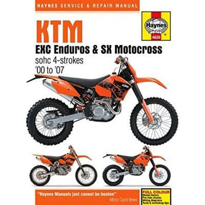 KTM Enduro & Motocross Service and Repair Manual -