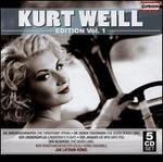 Kurt Weill Edition, Vol. 1