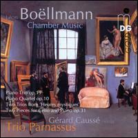 Léon Boëllmann: Chamber Music - Chia Chou (piano); Gérard Caussé (viola); Michael Gross (cello)