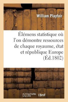 ???l???mens de Statistique O??? l'On D???montre Les Ressources de Chaque Royaume, ???tat Et R???publique Europe - Playfair-W