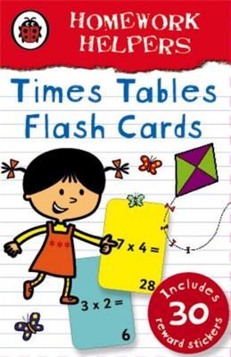 Ladybird Homework Helpers: Times Tables flash cards -