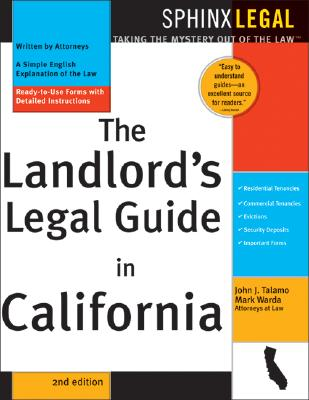 Landlord's Legal Guide in California - Talamo, John J, and Warda, Mark, J.D.
