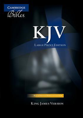 Large Print Text Bible-KJV - Cambridge University Press (Creator)