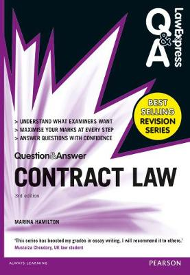Law Express Question and Answer: Contract Law (Q&A revision guide) - Hamilton, Marina