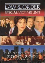 Law & Order: Special Victims Unit - The Second Year 2000-2001 [3 Discs]