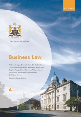 Law Society of Ireland Manual: Business Law - Collins, Denise (Editor)