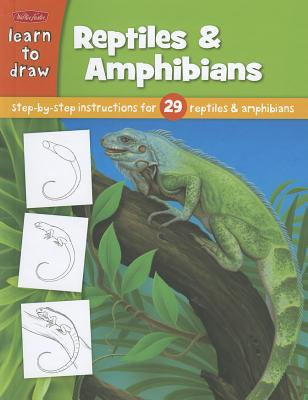 Learn to Draw Reptiles & Amphibians -