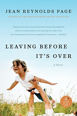 Leaving Before It's Over - Page, Jean Reynolds