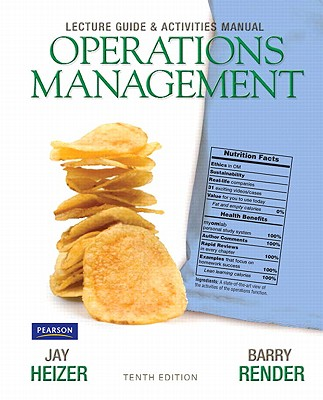 Lecture Guide and Activities Manual for Operations Management Flexible Edition - Heizer, Jay, and Render, Barry M.