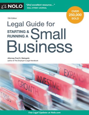 Legal Guide for Starting & Running a Small Business - Steingold, Fred