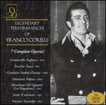 Legendary Performances of Franco Corelli [Box Set]