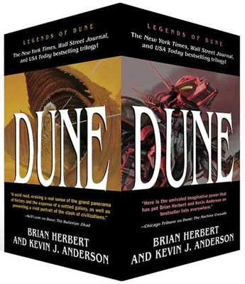 Legends of Dune Mass Market Paperback Boxed Set: The Butlerian Jihad, the Machine Crusade, the Battle of Corrin - Herbert, Brian, and Anderson, Kevin J
