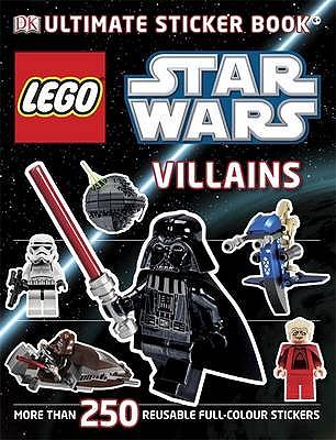 LEGO Star Wars Villains Ultimate Sticker Book -
