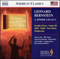 Leonard Bernstein: A Jewish Legacy - Aaron Miller (organ); Angelina Reaux (mezzo-soprano); Barry Snyder (piano); Bonita Boyd (flute);...