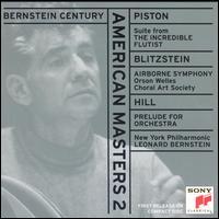 Leonard Bernstein: American Masters 2 - Andrea Velis (tenor); David Watson (baritone); Choral Art Society (choir, chorus); Leonard Bernstein (conductor)
