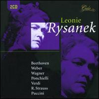Leonie Rysanek Opera Arias 1950-1978 - Albrecht Peter (vocals); Bernd Aldenhoff (vocals); George London (vocals); Gisela Litz (vocals); Hanna Schwarz (vocals);...