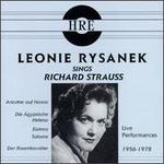 Leonie Rysanek Sings Richard Strauss