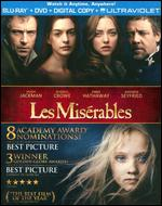 Les Miserables [2 Discs] [Includes Digital Copy] [UltraViolet] [Blu-ray/DVD] - Tom Hooper