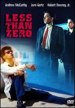 Less Than Zero - Marek Kanievska