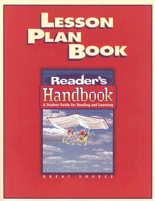 Lesson Plan Book: Reader's Handbook: A Student Guide for Reading and Learning - Robb, Laura, and Klemp, Ron, and Schwartz, Wendell