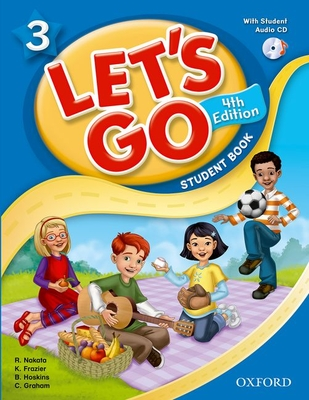 Let's Go: 3: Student Book With Audio CD Pack -