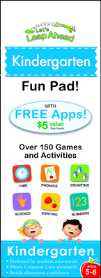 Let's Leap Ahead: Kindergarten Fun Pad: Kindergarten Fun Pad - Lluch, Alex A.
