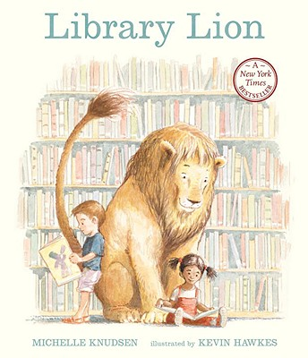 Library Lion - Knudsen, Michelle