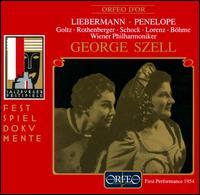 Liebermann: Penelope - Anneliese Rothenberger (vocals); Christel Goltz (vocals); Kurt Böhme (vocals); Kurt Equiluz (vocals); Max Lorenz (vocals);...