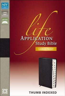 Life Application Study Bible-NIV-Large Print - Zondervan Publishing (Creator)