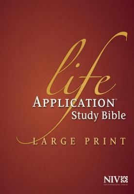 Life Application Study Bible-NIV-Large Print - Tyndale (Creator)