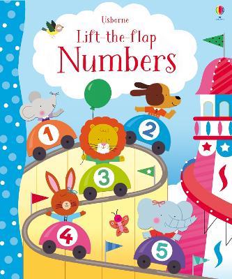 Lift-the-Flap Numbers - Brooks, Felicity, and Luthringer, Melisande (Illustrator)