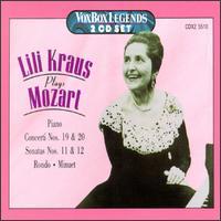 Lili Kraus Plays Mozart - Lili Kraus (piano)