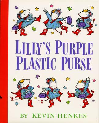 Lilly's Purple Plastic Purse -