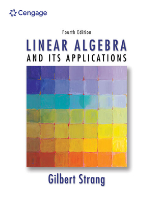 Linear Algebra and Its Applications - Strang, Gilbert, and Strang, Strang