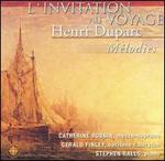 L'Invitation au voyage: Henri Duparc Mélodies