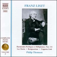 Liszt: Complete Piano Music, Vol. 3 - Philip Thomson (piano)