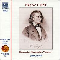 Liszt: Hungarian Rhapsodies, Volume 1 - Jen� Jand� (piano)