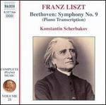 Liszt: Piano Transcription of Beethoven's Symphony No. 9