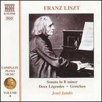 Liszt: Sonata in B minor; Deux Légendes; Gretchen