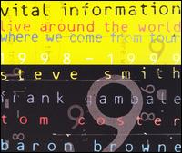 Live Around the World: Where We Come from Tour 1998-1999 - Vital Information