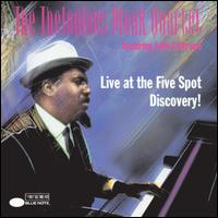 Live at the Five Spot: Discovery! - Thelonious Monk Quartet/John Coltrane