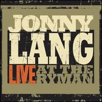 Live at the Ryman - Jonny Lang