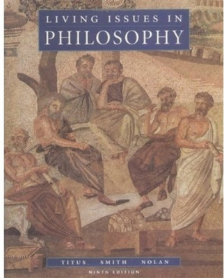 Living Issues in Philosophy - Titus, Harold (Editor)