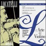 Locatelli: Concertos for Violin, Strings & Continuo, Op. 3